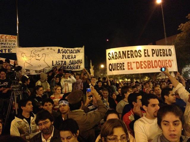 La lucha por el desbloqueo de listas en el Paraguay