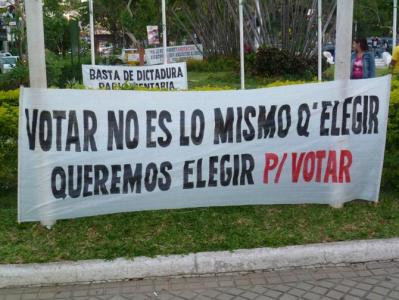 EL SUFRAGIO EN EL PARAGUAY