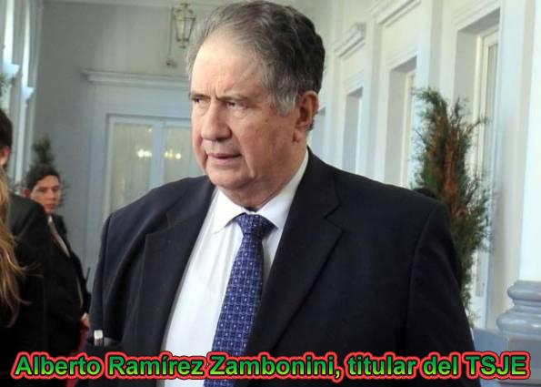 TSJE pide al Presidente postergar el desbloqueo