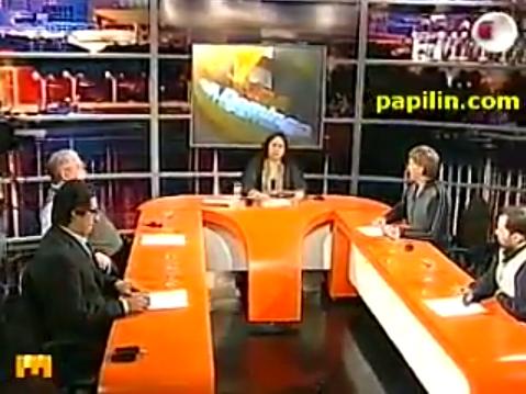 Periodistas debatiendo sobre el desbloqueo de listas sábana