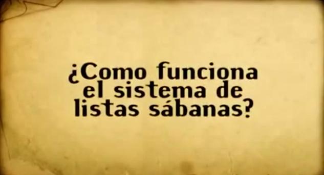 ¿Cómo funciona el sistema de Listas Sábana en el Paraguay?