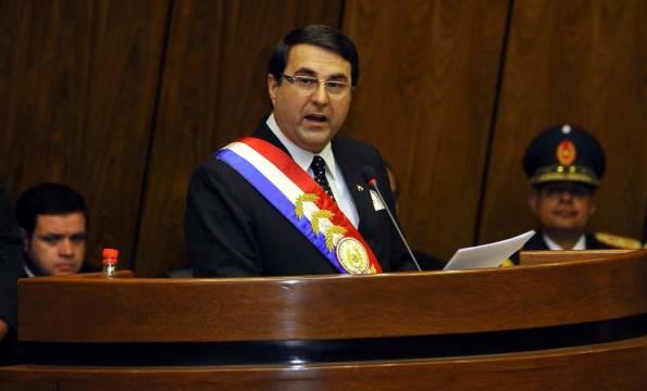 Presidente de Paraguay Federico Franco